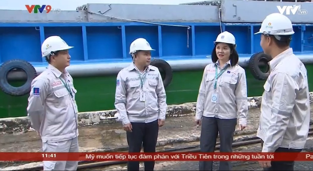 """Ca Mau Fertilizer reached 6 million tons of urea"" broadcasted on 08/08/2019 VTV9 News"