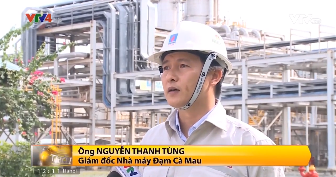 Ca Mau Fertilizer and solutions for Vietnam fertilizer's up growth – VTV4 News – 09/08/2019