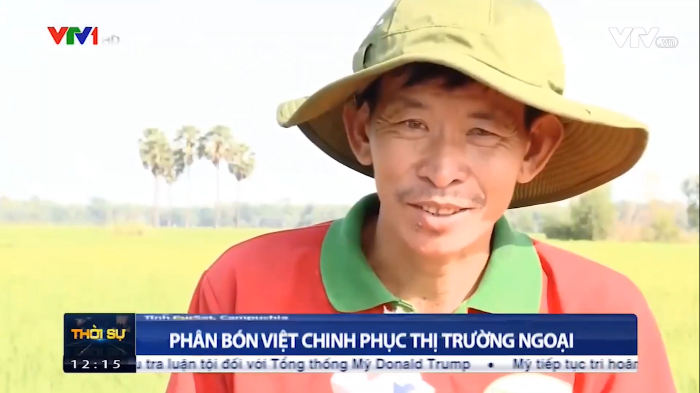 VTV1 – Vietnam fertilizers conquering the foreign markets.